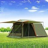 Gran tienda de campaña al aire libre de 5-7 personas, anti-tormenta tienda de campaña for acampar lluvia tienda de...