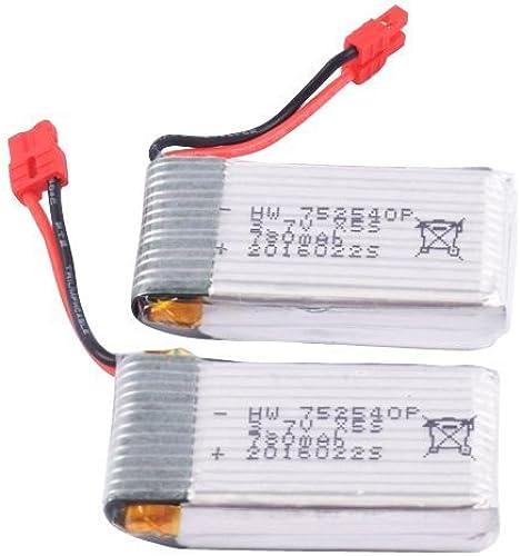 Venta en línea precio bajo descuento YouCute 2pcs 3.7V 780mAh Battery for syma X5hc X5hw X5hw X5hw RC quadcopter drone spare parts  tienda en linea