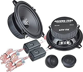 Ground Zero Iridium GZIC 13X Auto Lautsprecher Kompo System 280 Watt für BMW 5er (E39) 07/95 06/03 Einbauort vorne :Seitenverkleidung unten/hinten :