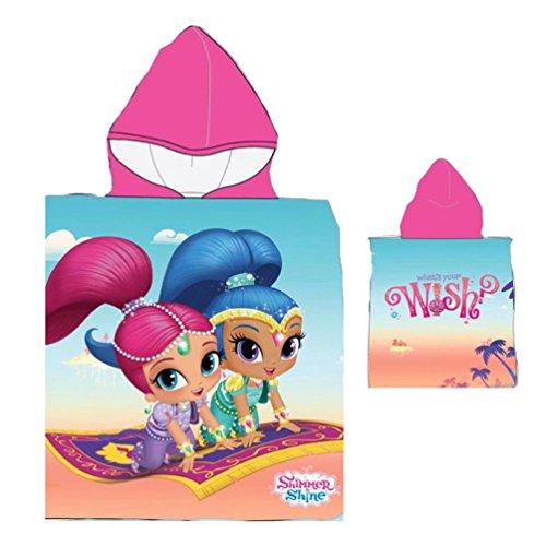 Nickelodeon Poncho toalha praia ou piscina Shimmer e