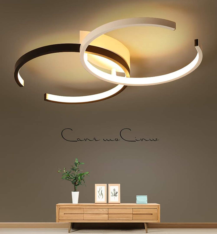 MIAOLEIE LED Deckenleuchte, Deckenlampe 36W, 3000K Modern Led Deckenleuchten Schlafzimmer Küche Wohnzimmer Lampe Esszimmerlampe Schlafzimmerlampe Badezimmerlampe Flurlampe [Energieklasse A+]