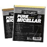 Proteína de caseína de alto porcentaje Essential Pure Micellar Casein de PROM-IN para la formación muscular durante el sueño (Chocolate, 30 g)