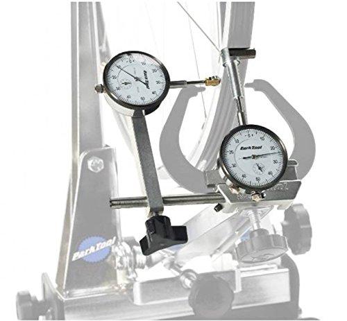 Park Tool - Juego de manómetros con Soportes TS2 y TS2.2 para nivelar Ruedas de Bicicleta