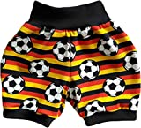 simply-sweet-baby Kurze Babyhose Pumphose Shorts Fussball (80)