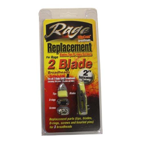 New Rage Hypodermique Expandable Broadheads 2 Lames 100 Grains 3 Pack