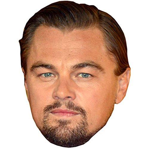 Celebrity Cutouts Leonardo di Caprio Maschere di Persone Famose, Facce di Cartone