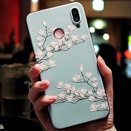 Funda Suave en Relieve 3D para Huawei P20 P30 P8 P9 P10 Mate 10 20 Lite Pro Nova 3 3i Capa para Huawei Honor 8X 6A 7A Pro 9 Lite 10 Funda, ldbaihua, P20 Pro