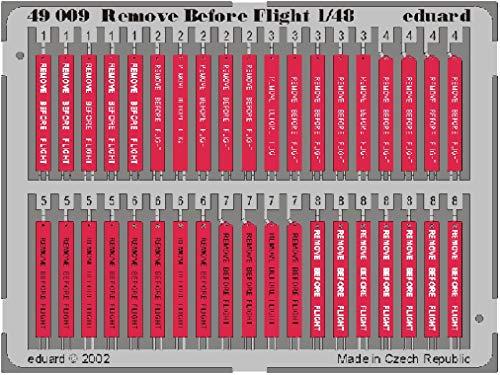 Eduard Accessories- Accessoire de modélisme Remove Before Flight, 49009