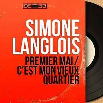 Premier mai / C'est mon vieux quartier (feat. François Rauber et son orchestre) [Mono Version]