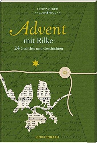 Lesezauber: Advent mit Rilke - Briefbuch zum Aufschneiden: 24 Gedichte und Geschichten (Adventskalender)
