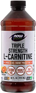 Now L-carnitine Liquid 3000 Mg Dietary Suppliment, 16 Oz