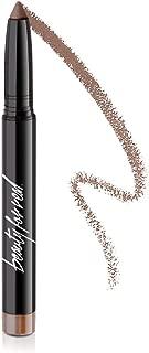 Beauty For Real Shadow STX 24-7 Waterproof Eyeshadow Stick, Midnight Marathon, Golden Brown Topaz, Cruelty Free Cream to Powder Formula, 0.05oz