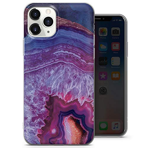 Marmo Stone - Cover in gel per iPhone 5, iPhone 5s, iPhone SE, design 5, A19