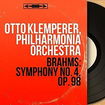 Brahms: Symphony No. 4, Op. 98 (Mono Version)