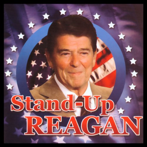 Stand-Up Reagan audiobook cover art