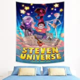 Steven Universe Tapestry Anime Wall Tapestry for Party Bedroom Decor Birthday Gift 50x60in