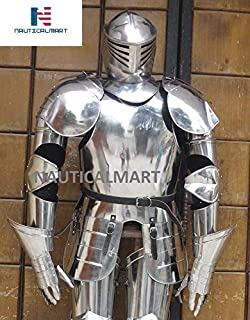 full suit of medieval armor