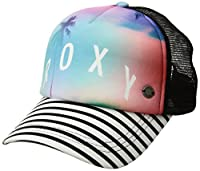 Roxy Women's Water Come Down Trucket Hat, anthracite flower of love, 1SZ