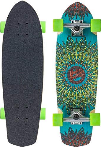 Mindless Longboards Mindless Mandala Tavola Skateboard Unisex Adulto, Unisex Adulto, ML5700, Blu, Taglia Unica