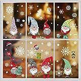 Pegatinas Navidad Ventanas Navidad Pegatina de Pared Tienda De Ventana Pegatinas De Pared Decoració De Navidad Copos De Nieve Pared Decoración Pegatina de Pared