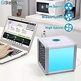 Sketchfab Air Cooler Portable Magic Room Personal Space air Conditioner Mini USB Fan Cooler for Home, Air Cooler, Air Cooler for Office - (Assorted)