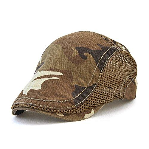 Gorra de Camuflaje Red Sombrero de algodón de Color sólido...