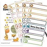 Baby Bottle Labels for Daycare,School, Waterproof Write-On,...