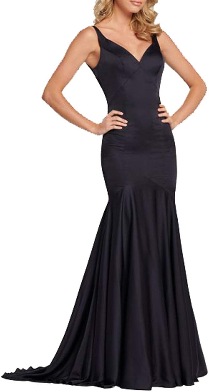 Half Flower Bridal Floor Length Prom Dresses VNeck Mermaid Prom Evening Dress Trumpet Prom Gowns