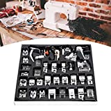Suministros para máquinas de coser 35 Unids/set Kit de prensatelas de excelente mano de obra resistente al desgaste, para máquina de coser