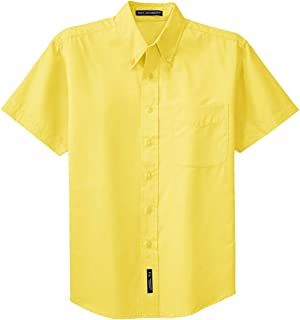 Mens Short Sleeve Easy Care Shirt (S508)