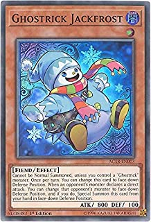 Yu-Gi-Oh! - Ghostrick Jackfrost - AC18-EN003 - Advent Calendar 2018-1st Edition - Super Rare