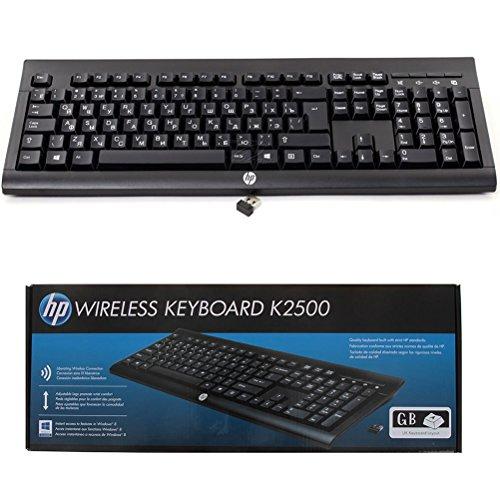 HP Wireless K2500 Keyboard Tastatur