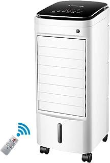 MMZZ Air Cooler Aire Acondicionado móvil, Enfriador de Aire móvil silencioso con Bandeja de Hielo y Control Remoto, Baja energía con Ventilador y humidificador, Oficina en el hogar Adecuada