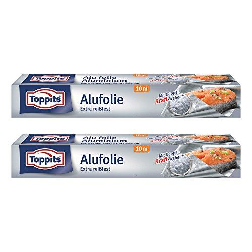 Toppits Alufolie Doppel-Kraft-Waben (10m...