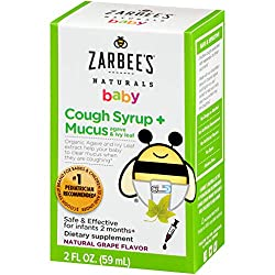 Zarbee's cough medicine for when baby has a cough.