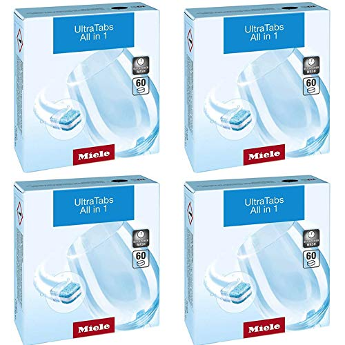 Miele All in 1 Tabs Dishwasher Tablets 60 per Box (240)
