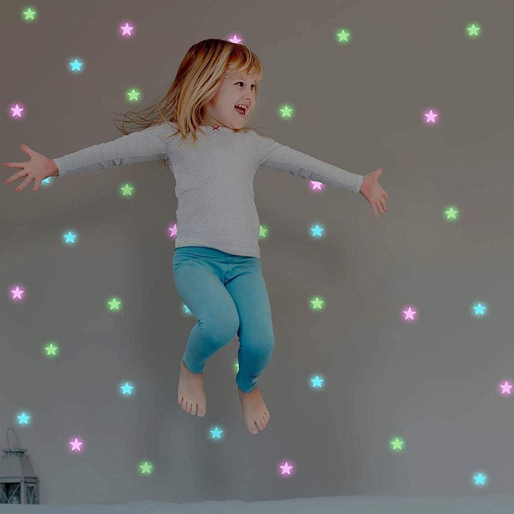 Zelte Kinder-Baldachin zum Aufh/ängen Moskitonetz f/ür drinnen und drau/ßen Kuppelzelt Kinnart Betthimmel f/ür Kinder zum Spielen wei/ß Stern-Dekor leuchtet im Dunkeln Lesen