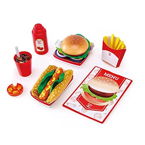 Hape E3160 - Fastfood-Set, Küchenspielzeug