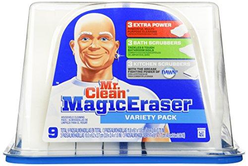 Mr. Clean Magic Eraser, 9 Counts