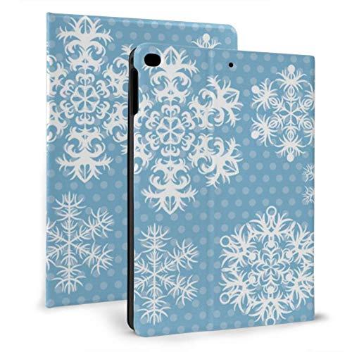 Cool iPad Covers Mandala Snowflake Shape Flower Air iPad Cover para iPad Mini 4 / Mini 5/2018 6th / 2017 5th / Air/Air 2 con Auto Wake/Sleep Estuche magnético para iPad para Hombres