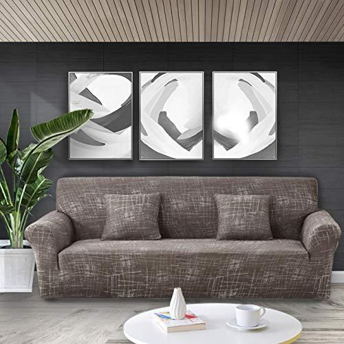 Funda elástica para sofá con Estampado Floral, Fundas para sofá, Fundas para sofá para Sala de Estar, Esquina, sofá, Toalla, Funda para sofá A8, 4 plazas