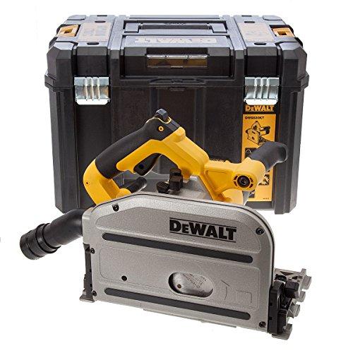 DEWALT DWS520KT schwere Tauchkreissäge mit Dachreling &, 1300 W, 240 V