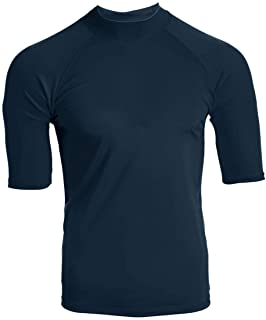 Kanu Surf Men's Fiji UPF 50+ Rashguard Shirt - Blue - X-Large