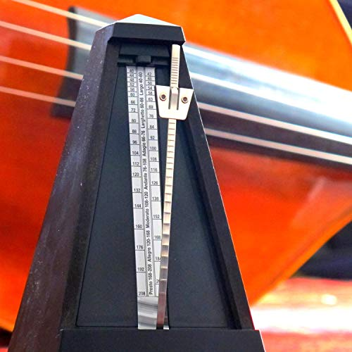 Traditional Mechanical Metronome Allegro 160 bpm
