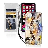 イーグルとオオカミ マ wolf iPhone11 ケース iPhone 11 Pro ケース iPhone 11 Pro max ケース 手帳型 財布型 カード収納 スタンド機能 マグネット式 スマホケース 高級PU レザー 耐衝撃 全面保護カバー