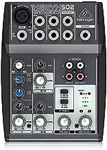 XENYX502 5-Input 2-Bus Mixer