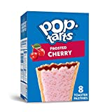 Pop-Tarts Toaster Pastries, Breakfast Foods, Baked in the USA, Frosted Cherry, 13.5oz Box (8 Toaster Pastries)