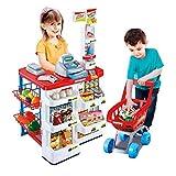 STAR WORK Kids Role Pretend Playset Big Size Supermarket kit for Kids Toys