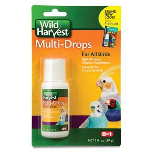 United Pet Group D13123 Bird Multi Drops Vitamin Supplement, 1-Ounce