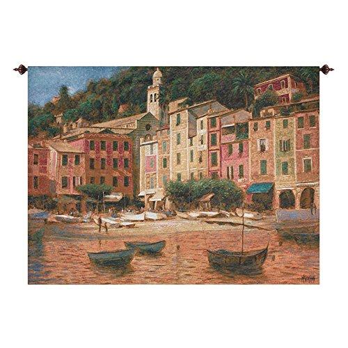 Portofino Scene Tapestry